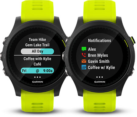 Garmin forerunner 935 Smart notification