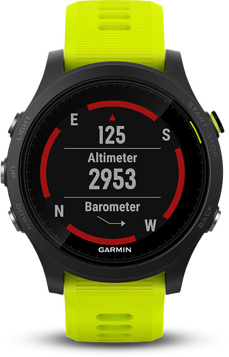 Garmin forerunner 935 Sensori ABC