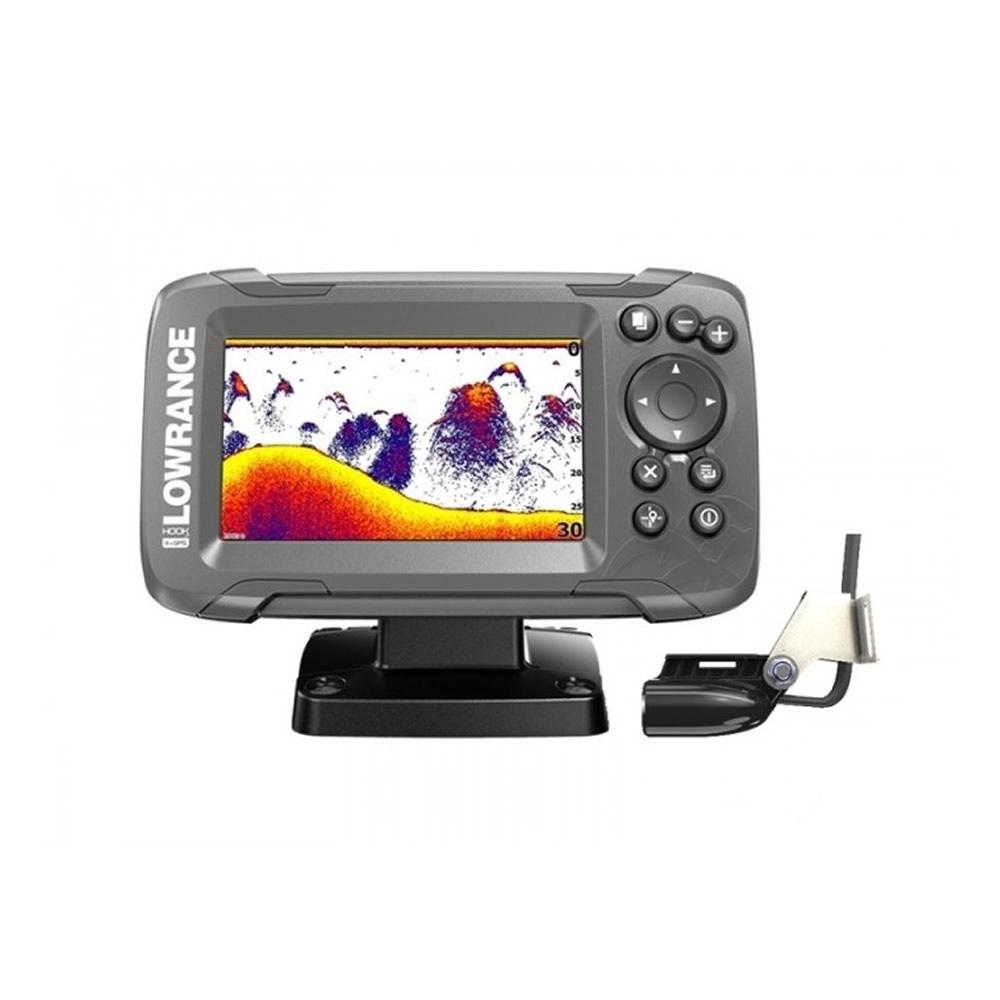 Lowrance HOOK2-4X GPS con trasduttore Bullet e plotter GPS CE art. 000-14015-001