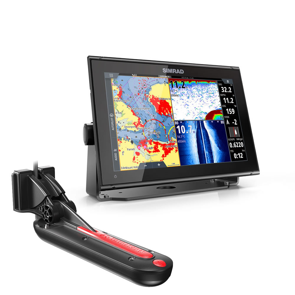 GO12 XSE ROW SIMRAD chartplotter con TOTALSCAN display 12 art. 000-14441-001(Anche in comode rate)