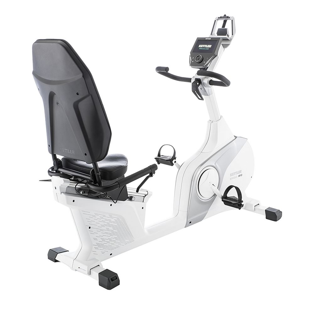 KETTLER Cyclette Ergometro ERGO R10 Recumbent bicicletta da camera art. 7688-200(Anche in comode rate)