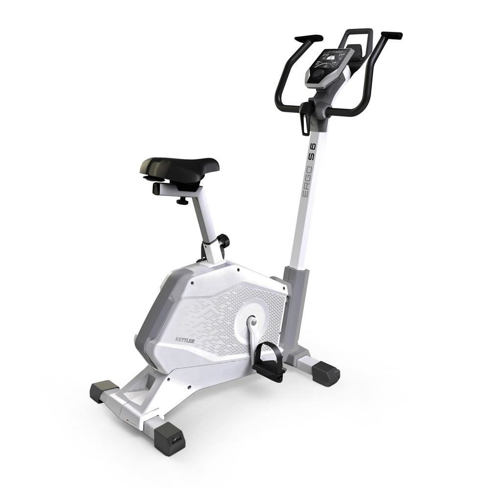 KETTLER Cyclette Ergometro ERGO S6 bicicletta da camera art. 7689-650(Anche in comode rate)