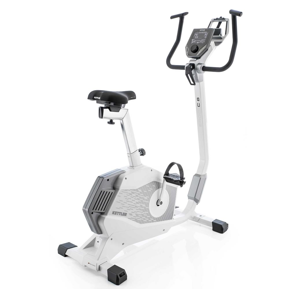 KETTLER Cyclette Ergometro ERGO C8 bicicletta da camera art. 7689-800(Anche in comode rate)