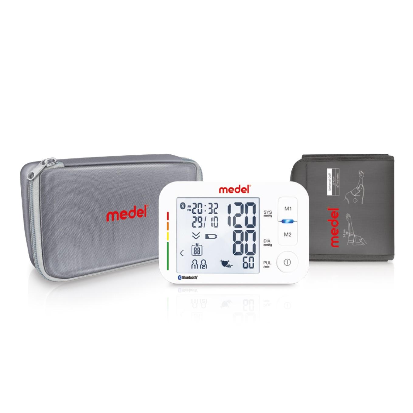 Medel iCARE misuratore di pressione da braccio automatico Bluetooth art. 973327012