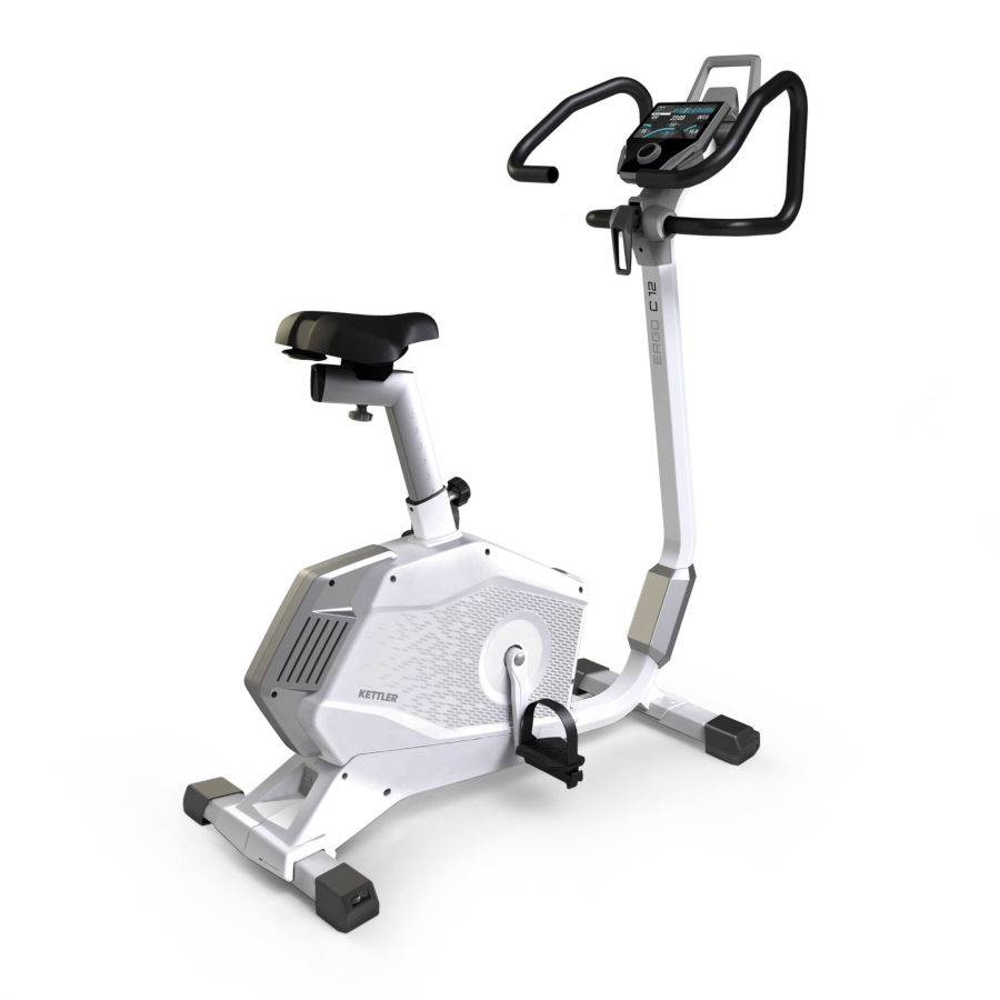 KETTLER Cyclette Ergometro ERGO C12 bicicletta da camera art. 7689-900(Anche in comode rate)
