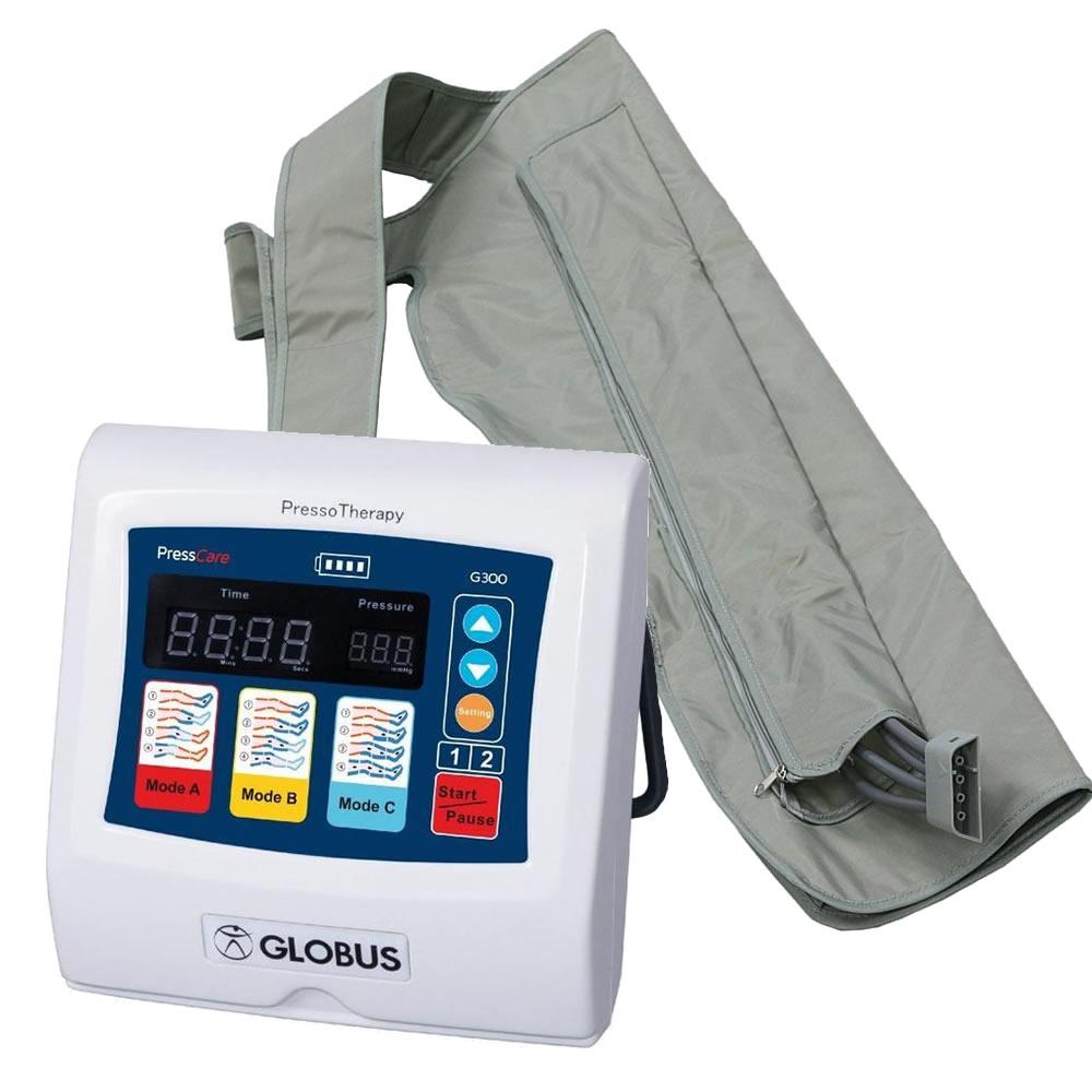 GLOBUS G300 PressCare con 1 bracciale per pressoterapia art. G5102(Anche in comode rate)