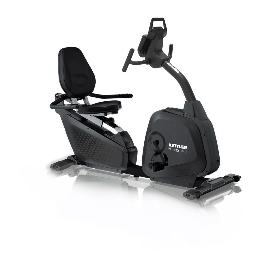 Cyclette KETTLER Advantage Giro R3 recumbent  art. 7689-370(Anche in comode rate)