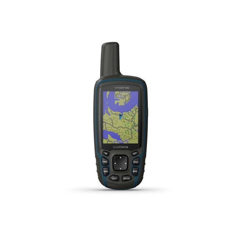 GARMIN GPSMAP 64x dispositivo gps portatile NOVITA GARMIN 010-02258-01(Anche in comode rate)