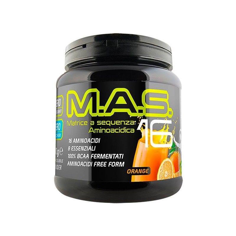 Net Integratori M.A.S. 16 matrice a sequenza aminoacidica FREE FORM 300g gusto COLA LIME
