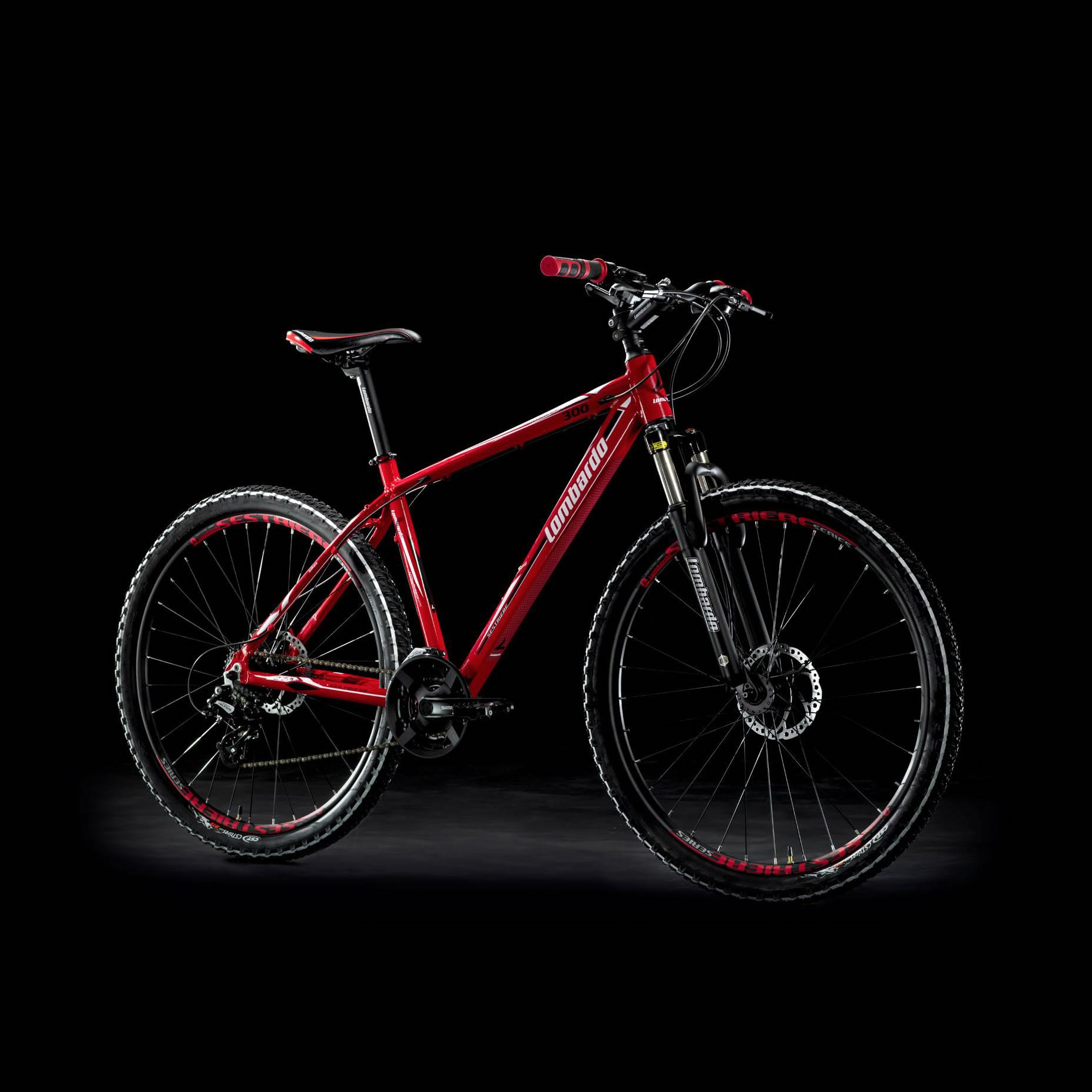Sestriere 300 29 Rosso Bianco Mountain Bike - Lombardo Bikes 2018(Anche in comode rate)