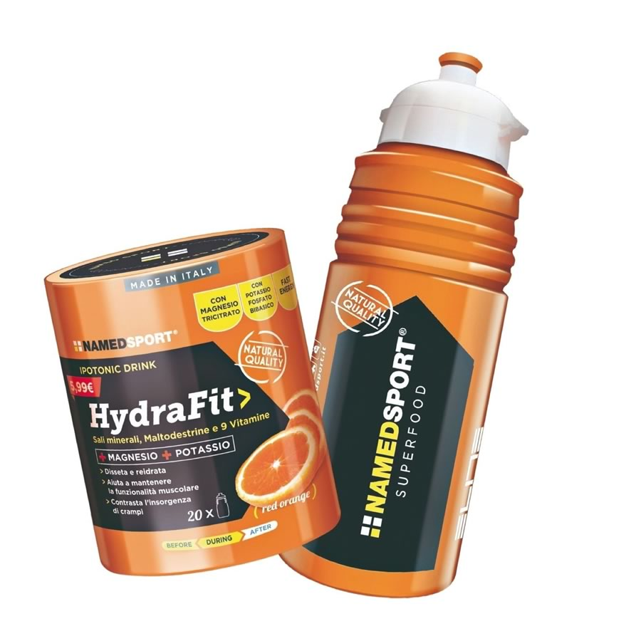NAMED SPORT HYDRAFIT Hypotonic con borraccia ELITE Sport in omaggio