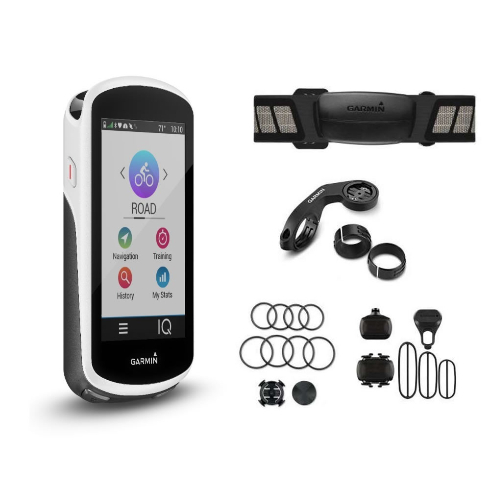 GARMIN Edge 1030 GPS bike computer con Bundle sensori art.010-01758-11(Anche in comode rate)