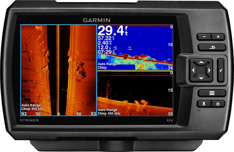 GARMIN STRIKER 7sv - ECOSCANDAGLIO CON DOWN VU / SIDE WU E GPS INTEGRATO ART. 010-01554-01(Anche in comode rate)