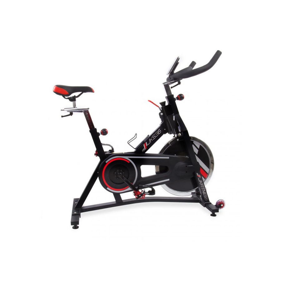 JK FITNESS 536 Indoor cycles trasmissione a cinghia e ricevitore cardio JK536(Anche in comode rate)
