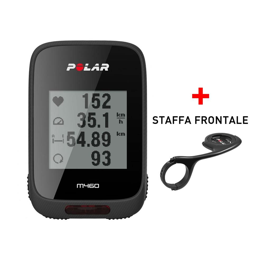 Polar M460 Ciclocomputer GPS con Strava Live Segments e staffa frontale art. 90064757