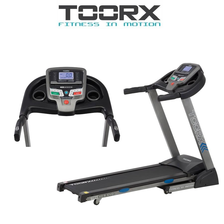 TOORX TRX 40 S EVO Tapis roulant motorizzato con inclinazione elettrica(Anche in comode rate)