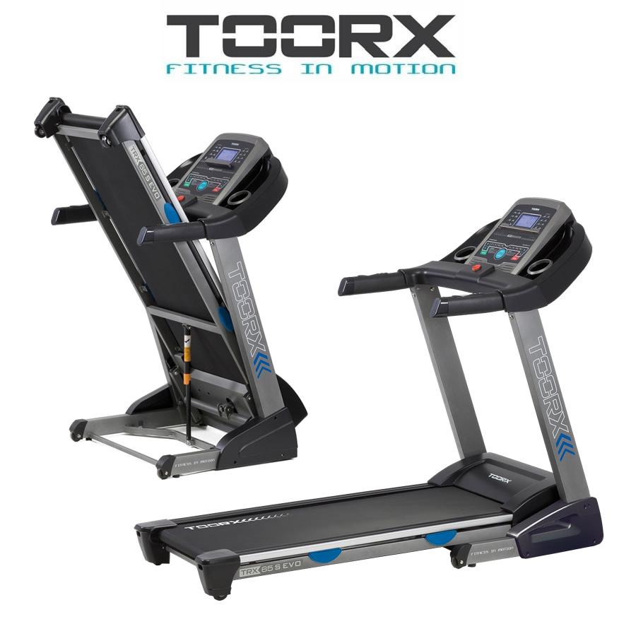 TOORX TRX 65 S EVO Tapis roulant con Tappetino insonorizzante e spray in OMAGGIO(Anche in comode rate)