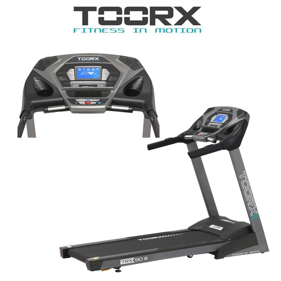 TOORX TRX 90 S Tapis roulant con fascia cardio e Tappetino in OMAGGIO(Anche in comode rate)