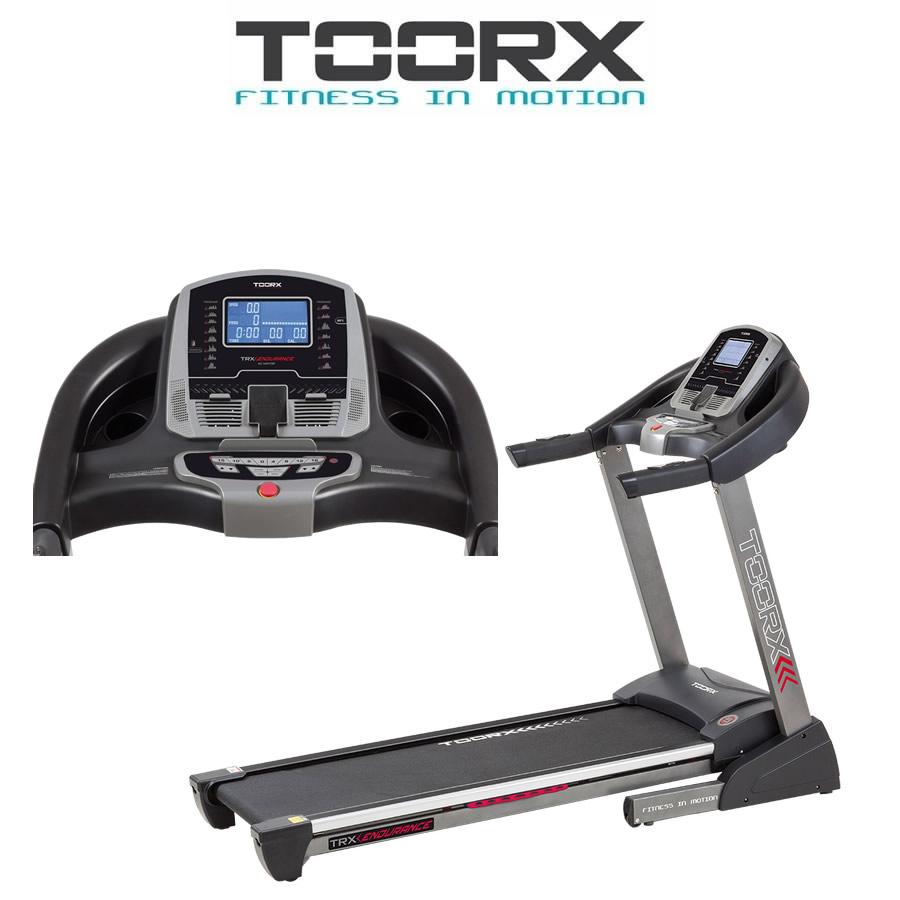 TOORX TRX ENDURANCE Tapis roulant Tappetino insonorizzante e spray in OMAGGIO(Anche in comode rate)