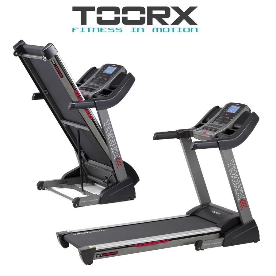 TOORX TRX MARATHON Tapis roulant con Fascia cardio e Tappetino con Spray in OMAGGIO(Anche in comode rate)
